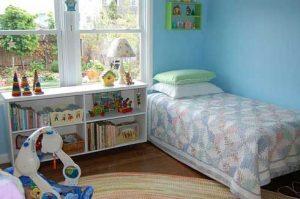 Deshumidificador en la habitacion de los niños