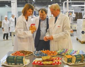 Deshumidificador para fábrica de dulces